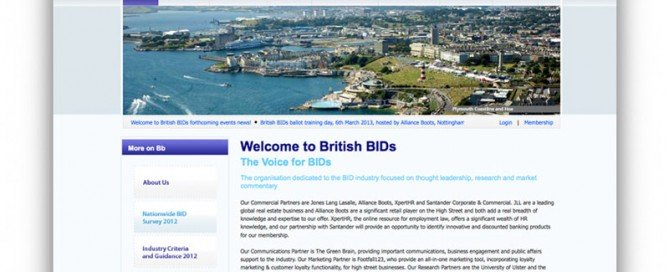 British BIDs Home