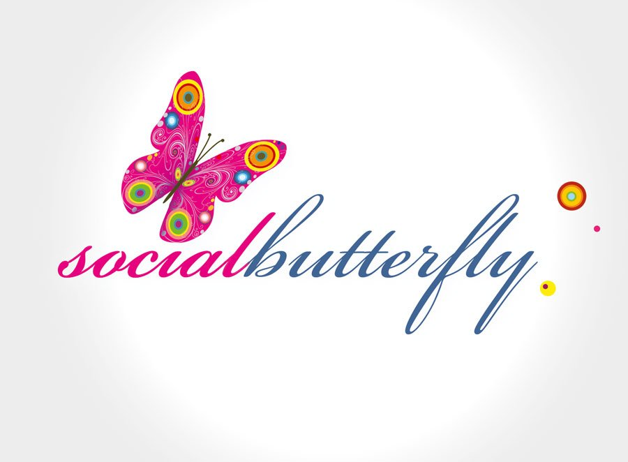 Social Butterfly Brand Creation - HB : Harkness Browne ...