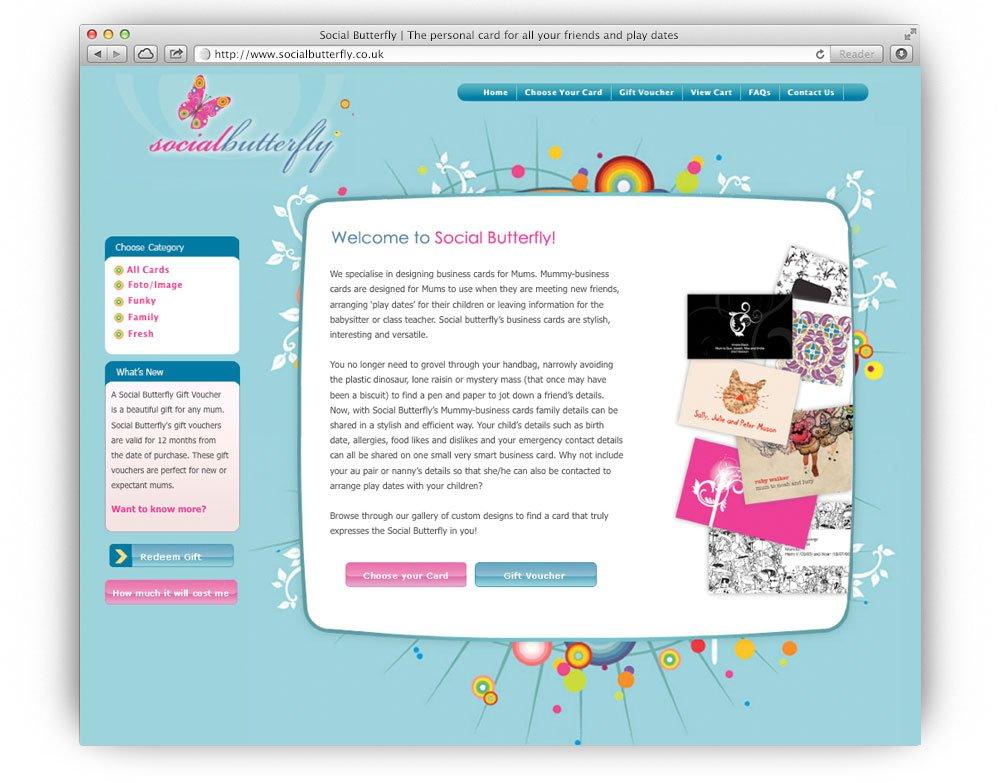 SocialButterfly-website